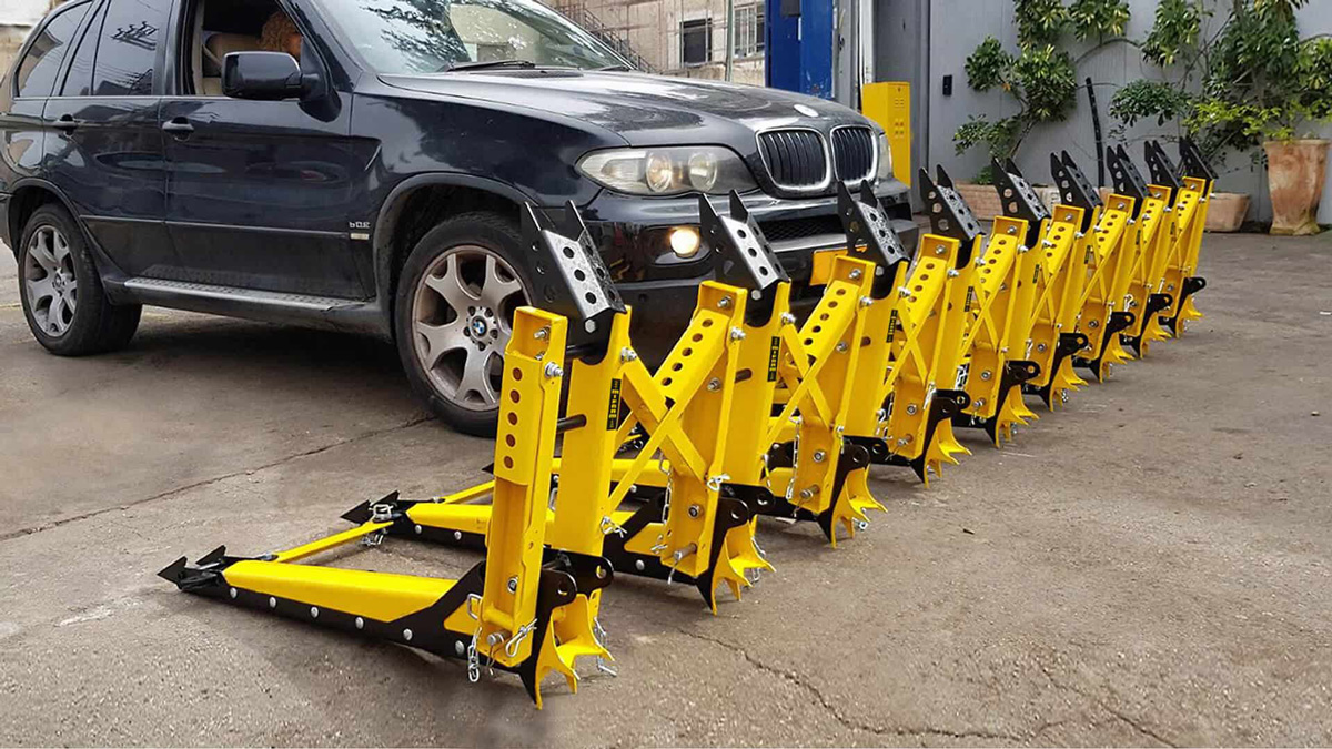 MVB 3X Modular Vehicle Barrier